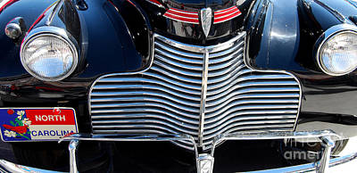 Photograph - Nc Chevy Grill by Mark Spearman