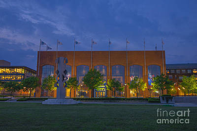 Photograph - Ncaa Hall Of Champions May 2013 by David Haskett
