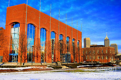 Photograph - Ncaa Hall Of Champions Winter by David Haskett