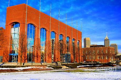 Photograph - Ncaa Hall Of Champions Winter by David Haskett II