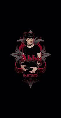 Ncis Digital Art - Ncis - Abby Gothic by Brand A