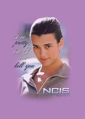 Ncis Digital Art - Ncis - I Can Kill You by Brand A