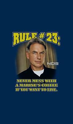 Ncis Digital Art - Ncis - Rule 23 by Brand A