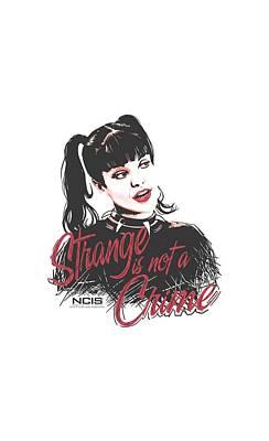 Ncis Digital Art - Ncis - Strange Is Not A Crime by Brand A