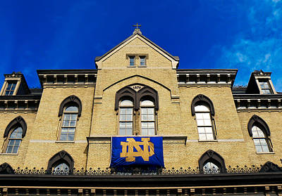 Photograph - Nd Banner by Connie Dye