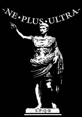 Caesar Augustus Digital Art - Ne Plus Ultra by Filippo B