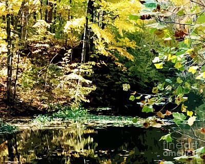 Neal's Pond Original by Charlie Spear