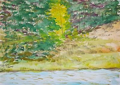 Near Beaver Damnation Original by Troy Thomas
