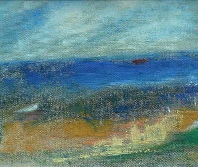 Painting - Near Donaghadee by Mary Feeney