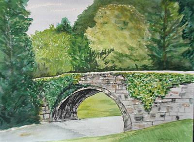 Near Hogwarts Original by Betty-Anne McDonald