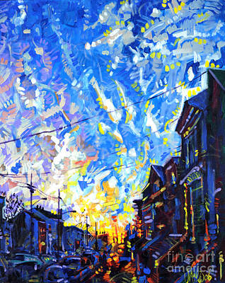 Near Misses In New Brunswick Art Print by Michael Ciccotello