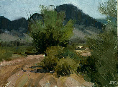Painting - Near Taos Nm by John Reynolds