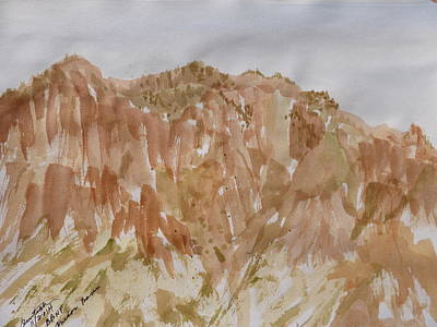 Painting - Near The Campsite - Chisos Basin by Joel Deutsch