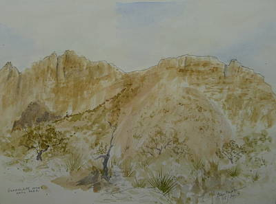 Painting - Near The Campsite by Joel Deutsch