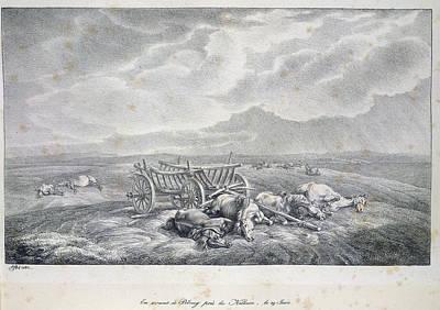 Adam Photograph - Near The Niemen by British Library