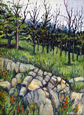Painting - Near Three Rivers by Barbara Oertli