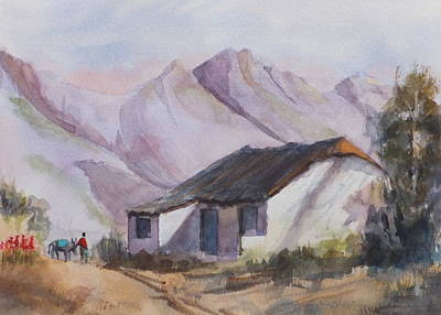 Painting - Nearly Home by Harold Kimmel
