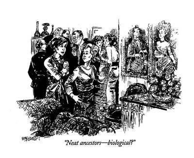 Ancestor Drawing - Neat Ancestors - Biological? by William Hamilton