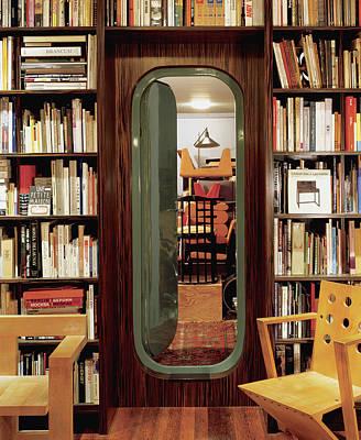 Photograph - Neatly Arranged Bookshelf by Scott Frances
