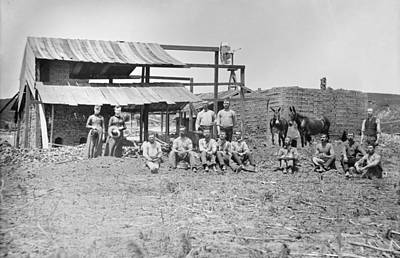 Photograph - Nebraska Brickyard, C1888 by Granger