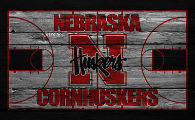 Nebraska Cornhuskers Art Print by Joe Hamilton