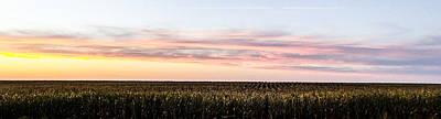 Grace Kelly - Nebraska Landscape by Angus Hooper Iii
