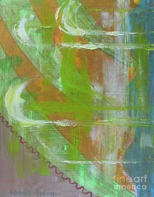 Forecast Painting - Nebraska Spring by PainterArtist FIN
