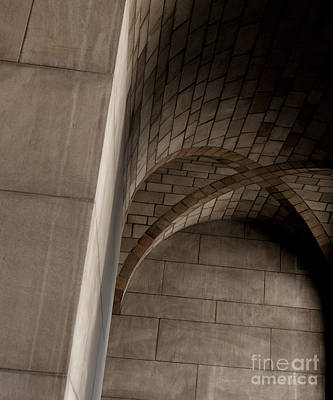 Photograph - Nebraska State Capitol Ceiling Arches by Art Whitton