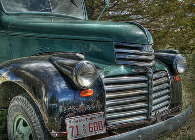 Photograph - Nebraska Truck by HW Kateley