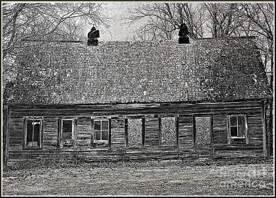 Photograph - Nebraskan Homestead  by Elizabeth Winter