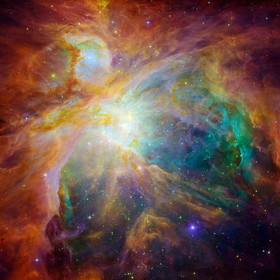 Chaos At The Heart Of Orion Art Print by Nasa