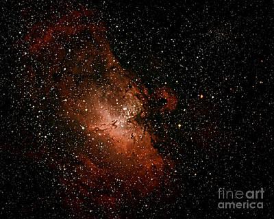 Nebula  M16 Art Print