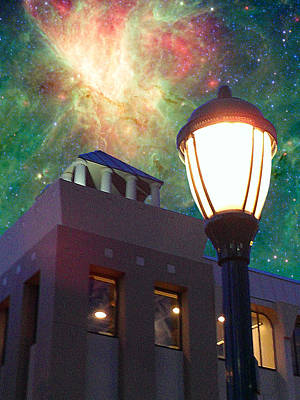 Photograph - Nebula Over Delmar by C H Apperson