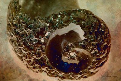 Photograph - Nebula by WB Johnston