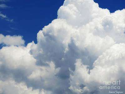 Photograph - Nebulous Cloud Forms - 1 by Leanne Seymour