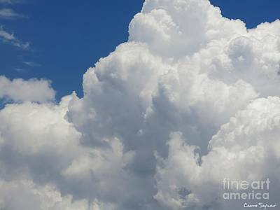 Photograph - Nebulous Cloud Forms by Leanne Seymour