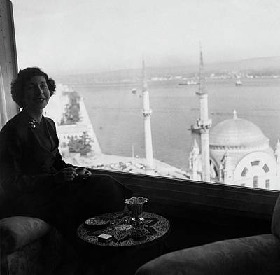 Coffee Table Photograph - Necla Erad By The Bosporus by Horst P. Horst