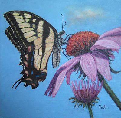Butterfly Nectar Original by Gay Pautz