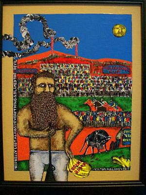 Ned Kelly Lost Everything Original by Victor Maloney