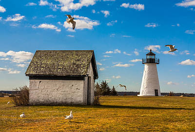 Dean Martin Photograph - Ned's Point Lighthouse by Dean Martin