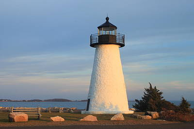 Ned's Point Lighthouse Mattapoisett Massachusetts Art Print