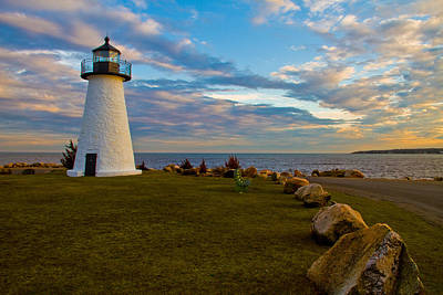 Photograph - Neds Point Lighthouse by Paul and Janice Russell