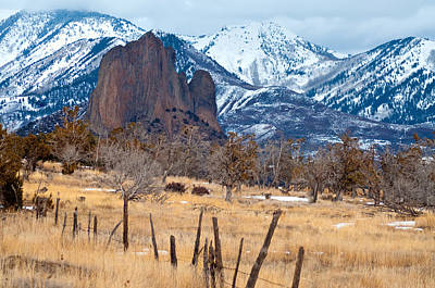 Pinion Photograph - Needle Rock And Sleeping Indian by Eric Rundle