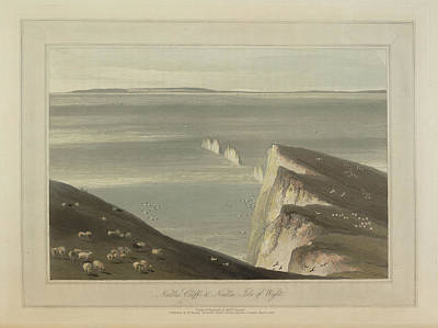 Needles Cliff Art Print by British Library