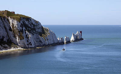 Needle's Isle Of Wight Art Print