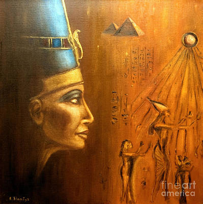 Nefertiti Art Print by Arturas Slapsys