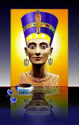 Nefertiti  The  Beautiful Art Print