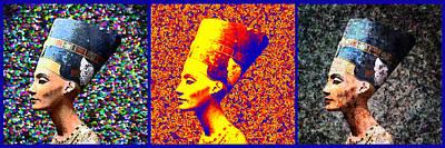 Photograph - Nefertiti Triptych by Paul Rainwater