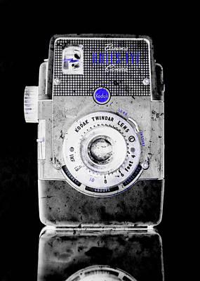 Warhol Photograph - Negative Brownie Bullseye Pop Art by Jon Woodhams
