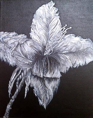 Oil Painting - Negative Essence by Fallon Franzen
